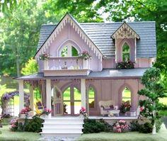 Summertime Beautiful dollhouse