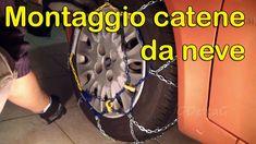 Come montare catene da neve (how to mount snow chains sub)