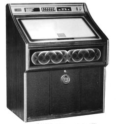 1980, Rowe-AMI's RI-3 Jewel: Compact juke, first produced in 04/1980. [Jukebox Collector]