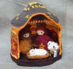 Christmas Nativity crochet pattern Christmas Nativity crochet pattern,Häkeln This is a pattern, not a finished item! The packet contains these patterns: -Mary inches) -Joseph inches) – baby Jesus in a. Crochet Crafts, Crochet Dolls, Crochet Yarn, Crochet Projects, Free Crochet, Christmas Crochet Patterns, Holiday Crochet, Nativity Crafts, Christmas Nativity