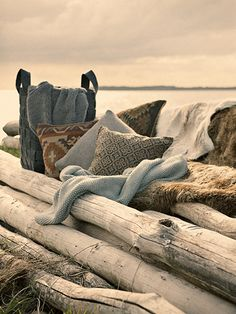 a fall afternoon at beach //  Hübsch A/S  // Styling: Jannie Krüger & Lysann Werner  // Photography: Bredo Hjollund