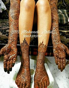 Explore latest Mehndi Designs images in 2019 on Happy Shappy. Mehendi design is also known as the heena design or henna patterns worldwide. We are here with the best mehndi designs images from worldwide. Arabic Bridal Mehndi Designs, Peacock Mehndi Designs, Mehndi Designs Feet, Indian Mehndi Designs, Legs Mehndi Design, Mehndi Designs 2018, Modern Mehndi Designs, Mehndi Designs For Girls, Mehndi Design Photos
