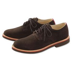 Made in USA, Made in America.  Mens Buck Shoes - Walk-Over Chocolate Bucks -- Orvis on Orvis.com!
