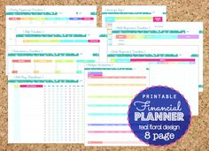 Budget Planner Bill and Expense Tracker List by ChicDesignsByJEM ...
