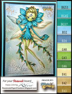 Floating Floral Fairy - Make It Crafty