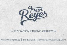 "Tarjeta de contacto ""Fran Reyes"""