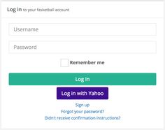 Yahoo logins now available. No sign up required.
