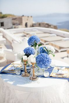 A Dreamy Pre-Wedding Dinner In Santorini | http://www.bridestory.com/blog/a-dreamy-pre-wedding-dinner-in-santorini