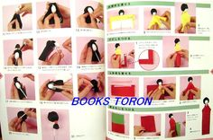 Pretty! Dolls of Washi Paper/Japanese Paper Doll Craft Book/092***