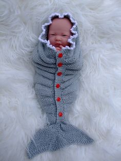 Ravelry: Little Miracle Mermaid tails by Karen Ashton-Mills