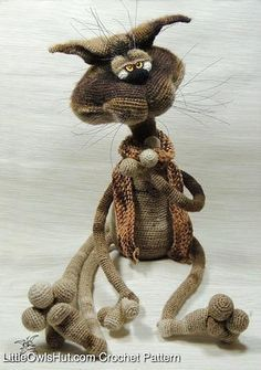 LittleOwlsHut Amigurumi patterns crochet and knitting | SOON