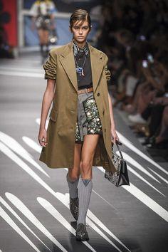 Prada, Frühjahr/Sommer 2018, Mailand, Womenswear