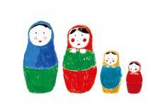 4 poupées photo