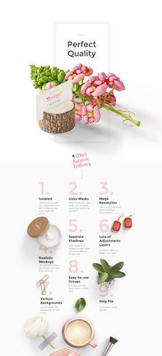 Beauty: Stationery, Cosmetics, Wedding, mockups on Behance