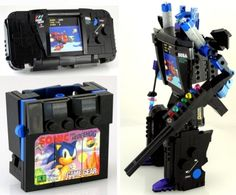 Lego Sega Game Gear Transformer!