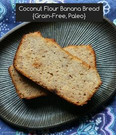 Good morning everyone! Today\\\'s post is a special request from a reader who loved the coconut flour cupcakes post. She wanted to know if I might have a banana bread recipe made with coconut flour, too.I didn\\\'t so I bought two extra-large bunches of bananas and left them to brown ...