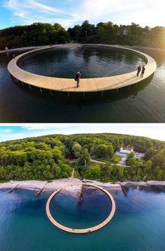 Gjøde & Povlsgaard Arkitekter's The Infinite Bridge
