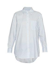 EQUIPMENT Daddy Striped Cotton Shirt. #equipment #cloth #shirt