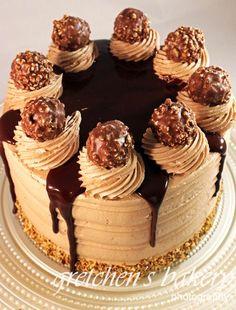 Ferrero Rocher Truffle Cake