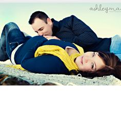 Maternity pictures ideas. I dont normally like the dad kissing the belly pic but this one is cute