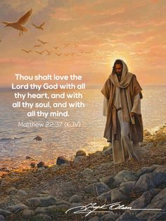 ...which means since God is within us, we are to also love ourselves with all of our heart, all of our soul and all of our mind.