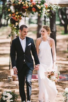 Best wedding dresses of 2015/ modern wedding dress by Calvin Klein