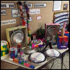 Inquiring Minds: Mrs. Myers' Kindergarten: Exploring Sound: The Project and Presentation