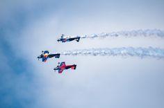 Flying Bulls Aerobatic Trio 2015 by Graziella Serra Art & Photo on