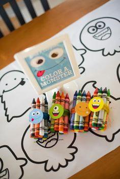 Little Monster Party Activities