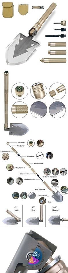 Camping Shovels 75233: Tactical Camping Military Army Entrenching Folding Survival Shovel Durable Spade -> BUY IT NOW ONLY: $32.29 on eBay!