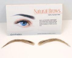 Cardani Realistic Human Hair Eyebrows #15 - Stick On Eyebrow Wig
