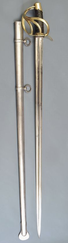 Napoleonic Swords and Sabers Collection: French An XI Cuirassier Heavy Cavalry Sword Grand Armée
