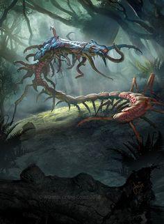 MTG- It of the Horrid Swarm- full art by jason-felix on DeviantArt