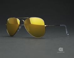 Ray-Ban Aviator Gold Mirror, I love it! This one is for my sons heritage RAYBANS SUNGLASSES, SAVE UP TO 75%