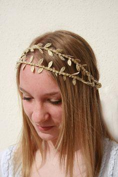 Double Gold Vine Crown By BespokeBridalTiaras On Etsy Bridal HeadbandsWedding