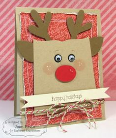Stamping with a Passion!: Taylored Expressions October Sneak Peeks: Big Bold Christmas and Sack It To You Reindeer - visit to find a coordinating gift bag