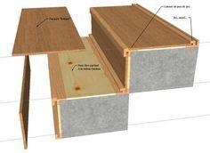 Korkstoff rustique en finition bois marron-prix est pour 0,5 km