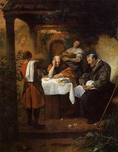Jan Steen Supper at Emmaus, 1665-1668