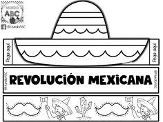 Fantástico y creativo sombrero para este 20 de noviembre revolución mexicana | Material Educativo Preschool Spanish, Preschool Ideas, Mexican Revolution, Virtual Class, History Class, Class Activities, School Humor, Interactive Notebooks, Coloring Books
