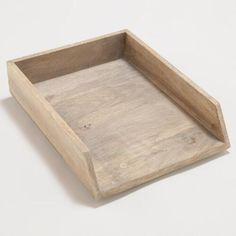 One of my favorite discoveries at WorldMarket.com: Owen Paper Tray