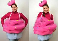 DIY // cupcake kostüm