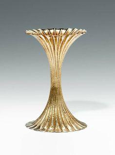 Antique Vases For Sale at Joseph Hoffman, Art Eras, Vienna Secession, Vases For Sale, Gold Glass, Gustav Klimt, Antique Items, Decorative Objects, Art Deco Fashion
