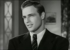 "Marlon Brando 1924-2004, Born Omaha, Nebraska, American actor. He was ranked by the AFI as the fourth greatest screen legend among male movie stars. He is widely considered as on of the greatest and most influential actors of the 20th century. 1954 ""On the Waterfront"", 1953 ""The Wild One"""