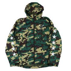 Nike FCRB Camo Practice Jacket 200