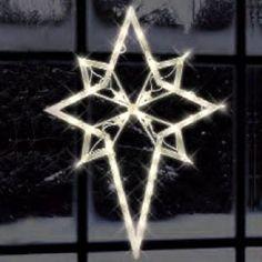 Star Of Bethlehem,Window Silhouette,Christmas Silhouette,Christmas,American Sale - American Sale