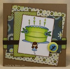 Little Peep's Birthday - fun layout and papers!!