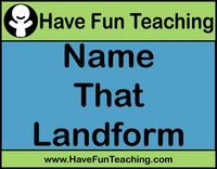 """FREE 25 Slide Landforms Powerpoint~  This display has a wide variety of pictures that focus on key landforms such as tundra, wetland, ocean, grassland, desert, and coral reef.  Students view each picture then select from a multiple choice menu.  Slides are numbered so this could be a good supplemental activity for students to """"jump into"""" after bellwork using a numbered handout for recording answers.  Good for introducing, reviewing, or testing these concepts!"""