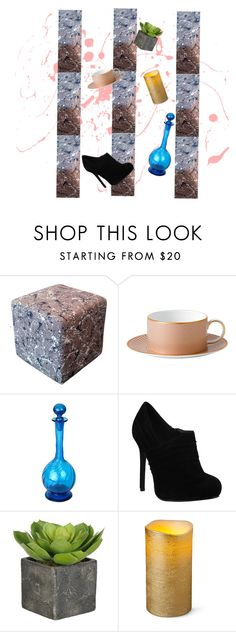"""""""wallpaper 3"""" by alannahdee on Polyvore featuring interior, interiors, interior design, home, home decor, interior decorating and Patina Vie"""
