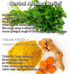 Herbal Asthma Relief..  These superfoods can naturally shoo off your asthma away!