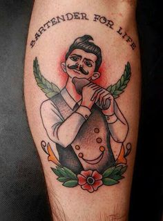 The best tattoo for a real bartender